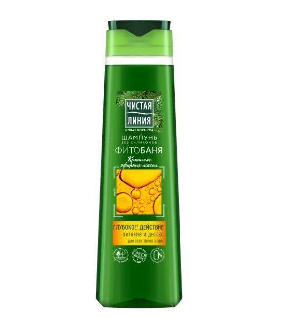 Чистая линия Шампунь «Фитобаня» для всех типов волос, 400 мл - фото 1