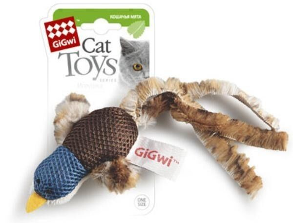 GiGwi Утка с кошачей мятой - фото 1