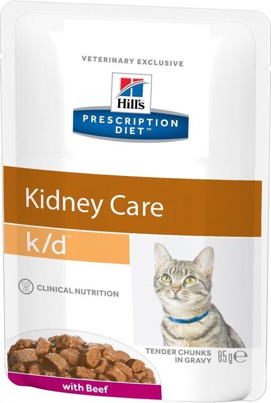 Hill's PD k/d Kidney Care Beef 85 гр. х 12 шт. - фото 2