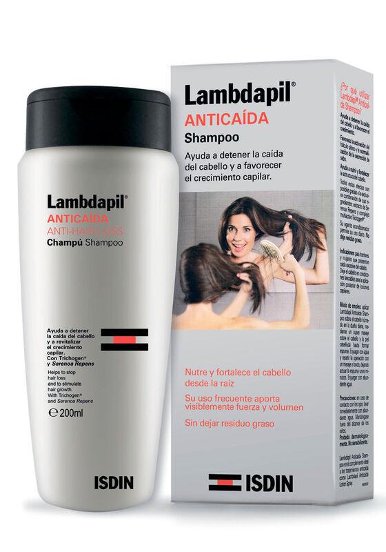 ISDIN Шампунь против выпадения волос LAMBDAPIL, 200 мл - фото 1