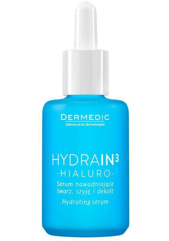 Dermedic Сыворотка для лица, шеи и декольте увлажняющая HYDRAIN3 HIALURO 30г - фото 1