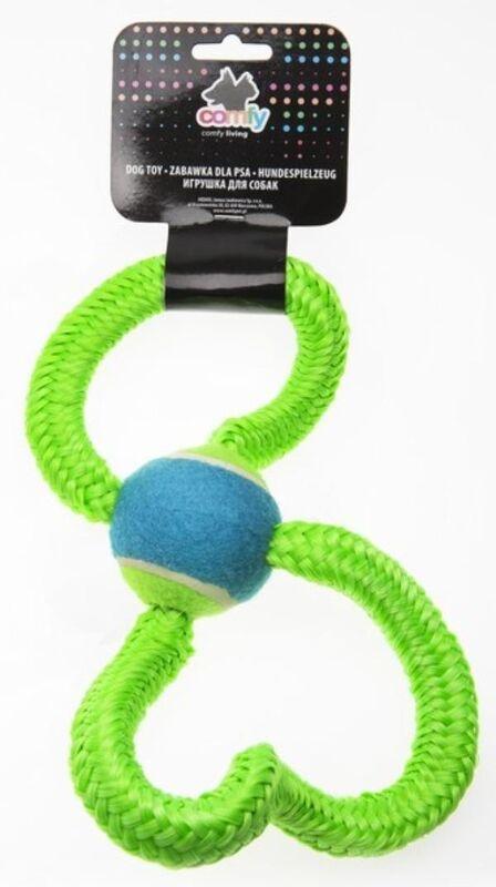 Comfy Игрушка для собак Gummy зеленая 33 см - фото 1
