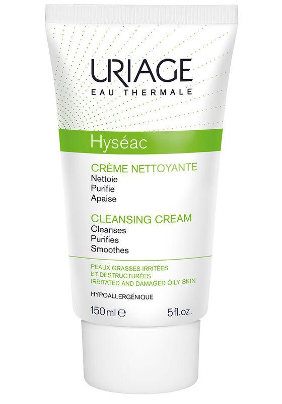 Uriage Крем HYSEAC CRÈME NETTOYANTE / ИСЕАК очищающий 150 мл - фото 1