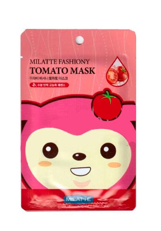 MILATTE Маска тканевая томатная TOMATO MASK SHEET 21гр - фото 1