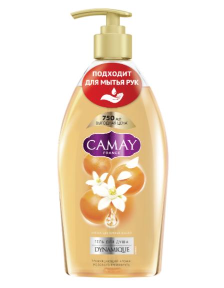 Camay Гель для душа и мытья рук «Динамик», 750 мл - фото 1