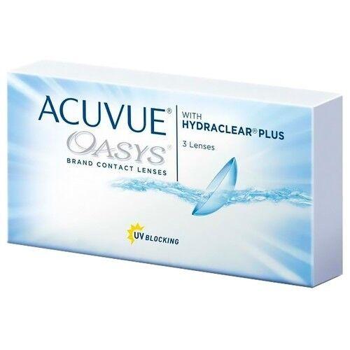 Контактные линзы Acuvue OASYS with Hydraclear Plus (3 линзы) - фото 2