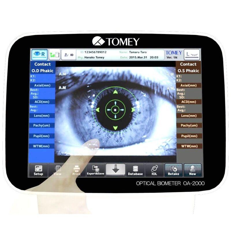 Медицинское оборудование Tomey Оптический биометр ОА-2000 - фото 3