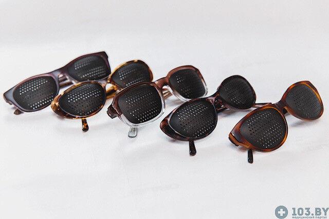 Очки Касияна Очки-тренажеры в пластмассовой оправах - фото 3
