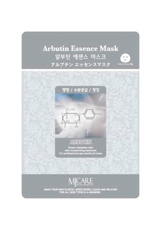 Mijin Маска тканевая арбутин Arbutin Essence Mask 23гр - фото 1