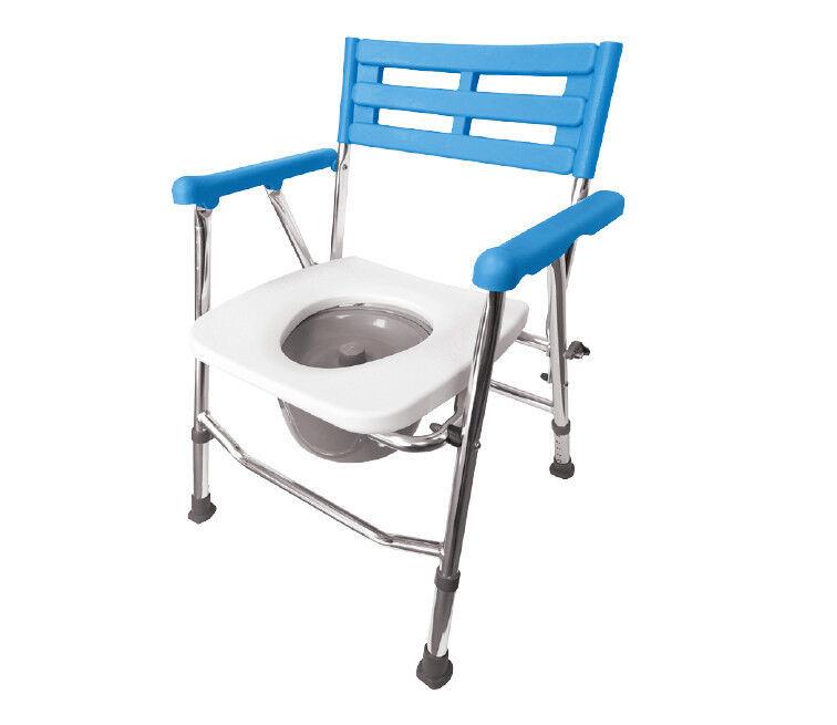 Санитарное приспособление ARmedical Кресло-туалет складное, алюминиевое, AR-104 - фото 1