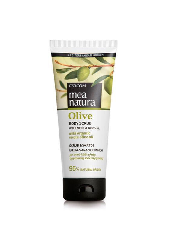 Farcom Скраб для тела Mea Natura Olive с оливковым маслом 200 мл - фото 1