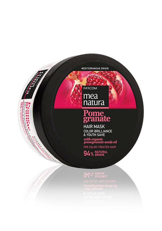 Farcom Маска Mea Natura Pomegranate с маслом граната для окрашенных волос 250 мл - фото 1