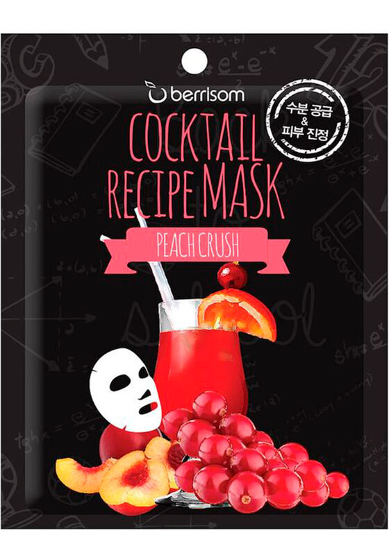 Berrissom Маска для лица Cocktail Recipe Mask - Peach Crush 20гр - фото 1