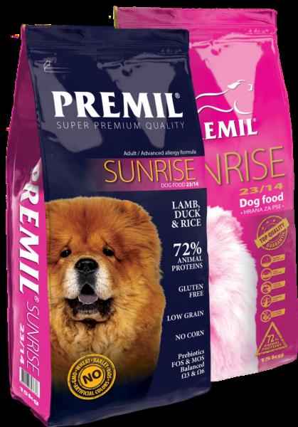 Premil Корм для собак Sunrise SuperPremium 3 кг - фото 1