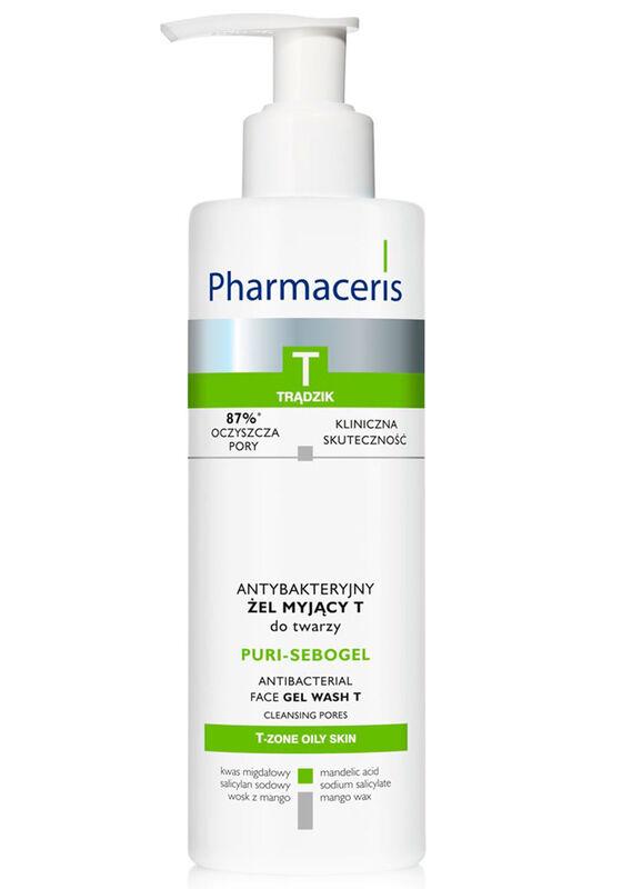 Pharmaceris Антибактериальный гель для умывания лица PURI-SEBOGEL 190 мл - фото 1