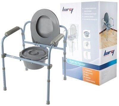 Санитарное приспособление Barry Кресло-туалет 10590 - фото 1