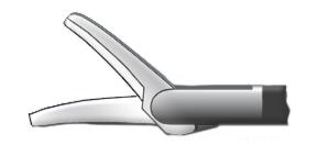 Медицинское оборудование ППП Ножницы изогнутые по плоскости однобраншевые левые Л-0048 - фото 1