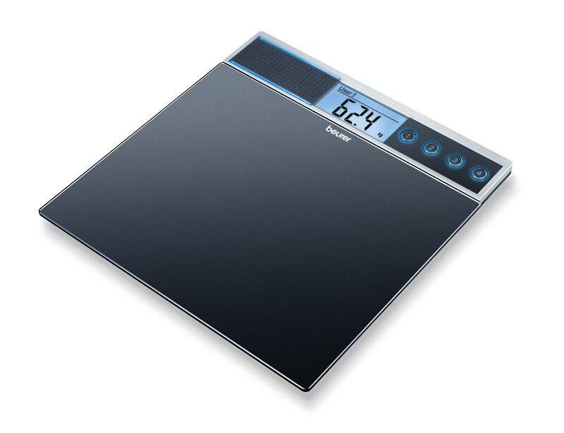 Beurer Говорящие стеклянные весы GS 39 - фото 1