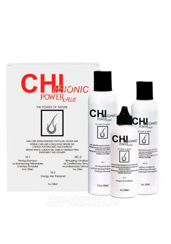 CHI Набор для нормальных и тонких волос 44 IONIC Power Plus Hair Loss Kit - фото 1