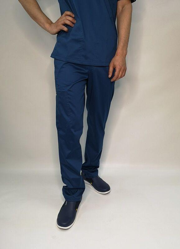 Доктор Стиль Медицинские брюки «Софт М» темно-синие Брю 3410.48 - фото 1