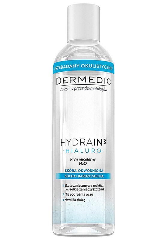Dermedic Вода мицеллярная HYDRAIN3 HIALURO H2O 200мл - фото 1