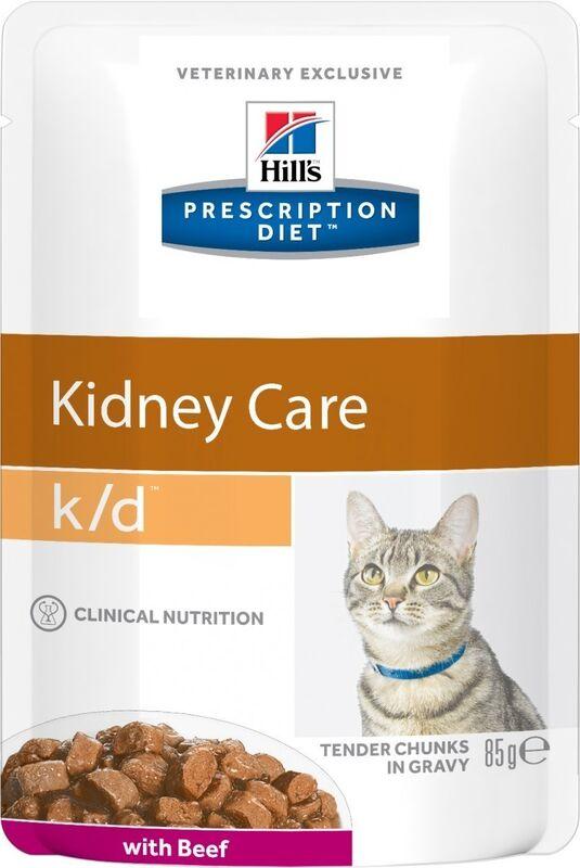Hill's PD k/d Kidney Care Beef 85 гр. х 12 шт. - фото 1