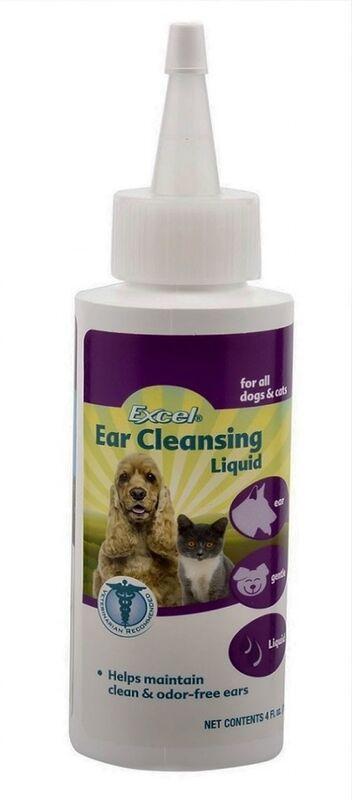 8 in 1 Гигиенический лосьон для ушей кошек Excel Ear Cleansing Liguid - фото 1