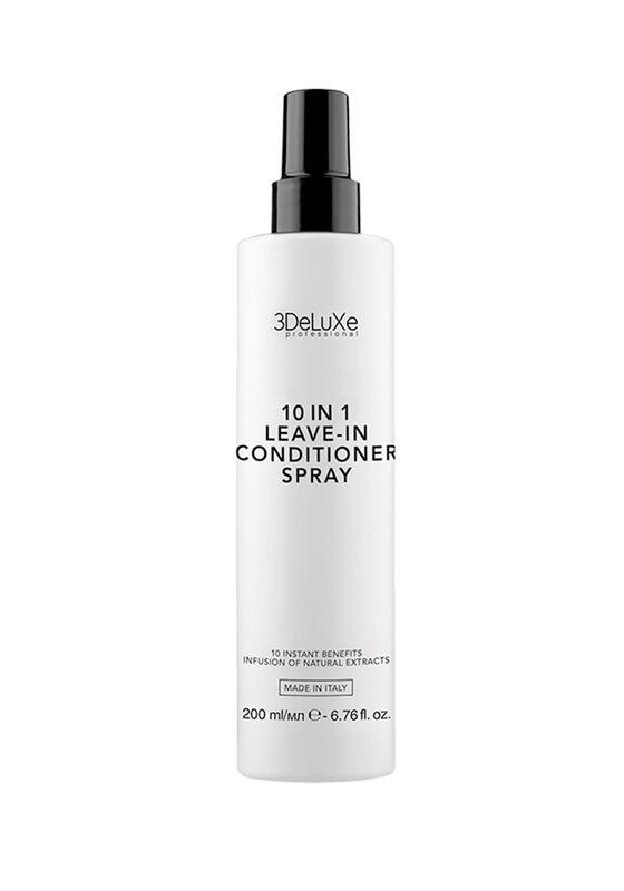 Nouvelle Несмываемый кондиционер-спрей для волос 3DELUXE 10 IN 1 LEAVE-IN COND ITIONER SPRAY 200 мл - фото 1
