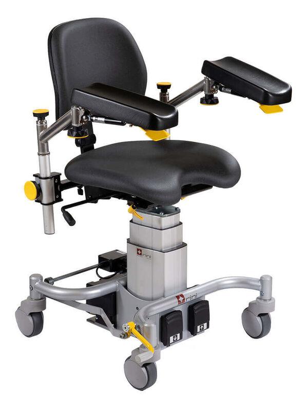 Медицинское оборудование Rini Операционное кресло хирурга Carl Heel R7 - фото 1