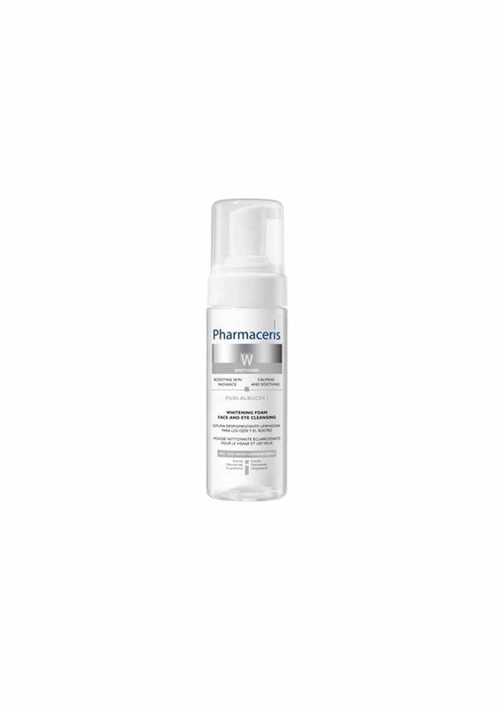 Pharmaceris Пенка для очищения кожи лица и глаз Puri-Albucin I отбеливающий, 150 мл - фото 1