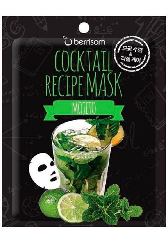 Berrissom Маска для лица Cocktail Recipe Mask - Mojito 20гр - фото 1