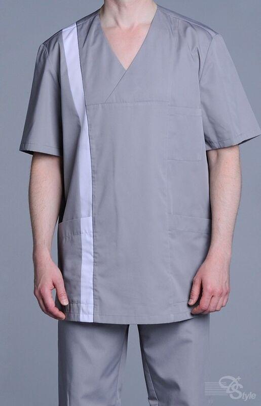 Доктор Стиль Блуза мужская Апрель - фото 1