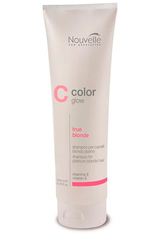 Nouvelle Шампунь COLOR GLOW TRUE BLONDE SHAMPOO 200 мл - фото 1