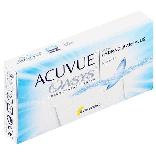 Контактные линзы Acuvue OASYS with Hydraclear Plus (6 линз) - фото 2