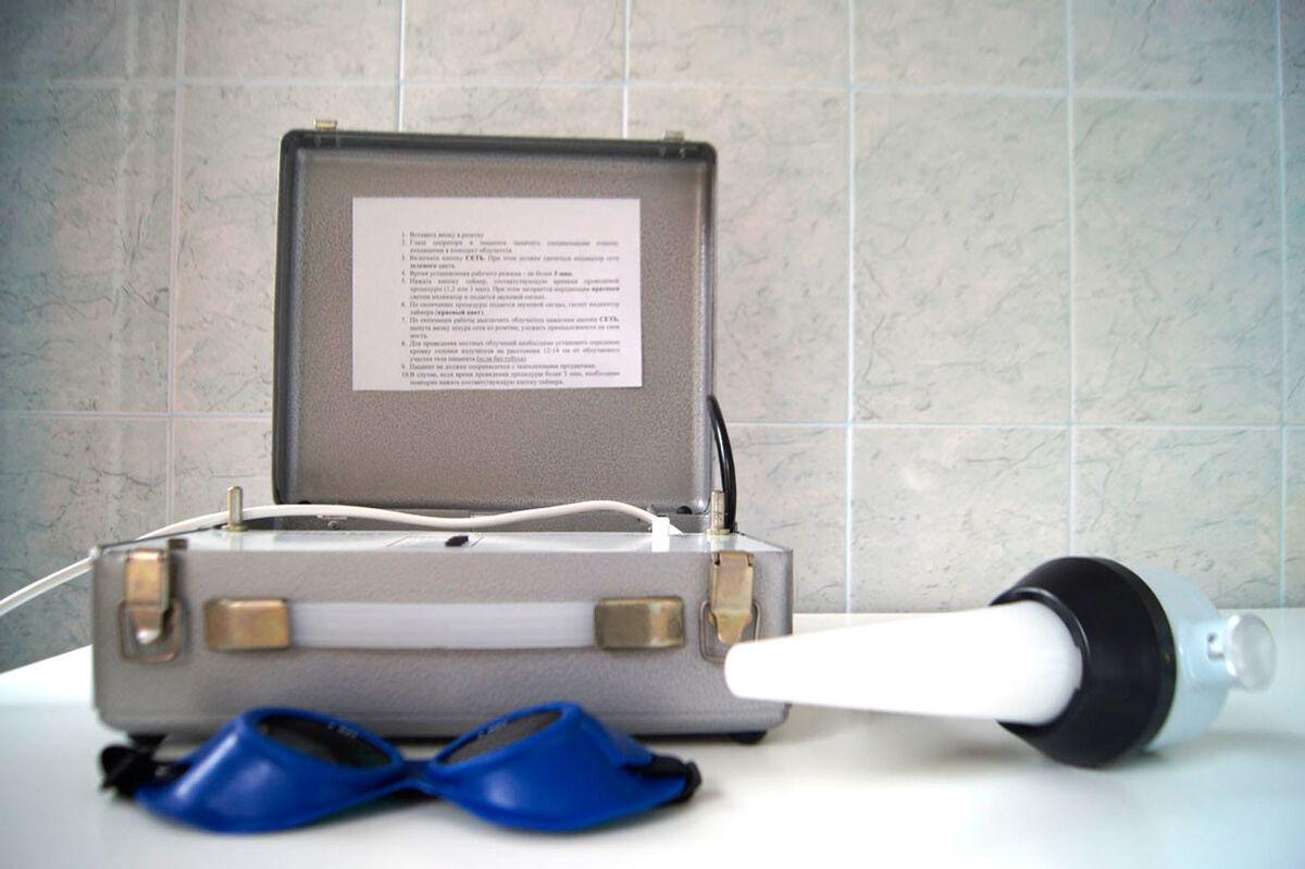 Медицинское оборудование НанЭМА Облучатель ультрафиолетовый БОП-01/27-НанЭМА - фото 2