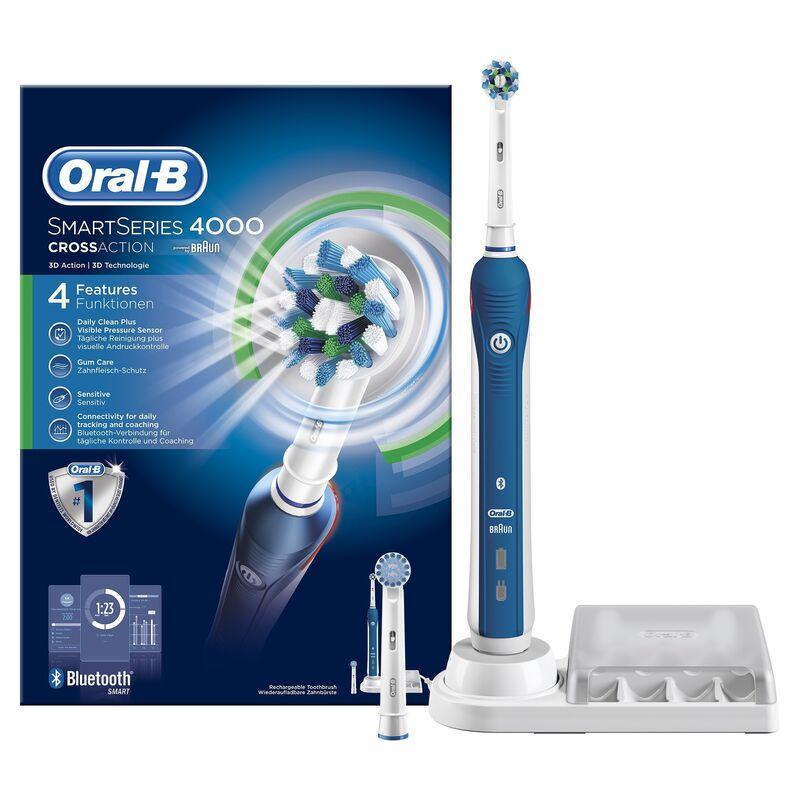 Oral-B Электрическая зубная щётка Pro 4000 - фото 1