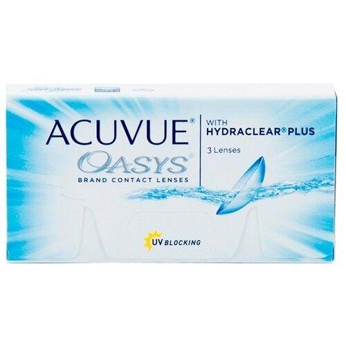 Контактные линзы Acuvue OASYS with Hydraclear Plus (3 линзы) - фото 1