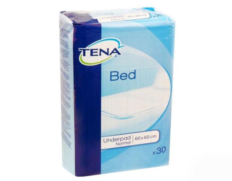 Tena Простыни (пеленки) впитывающие Bed Underpad Normal 60х60 см, 30 шт. - фото 1