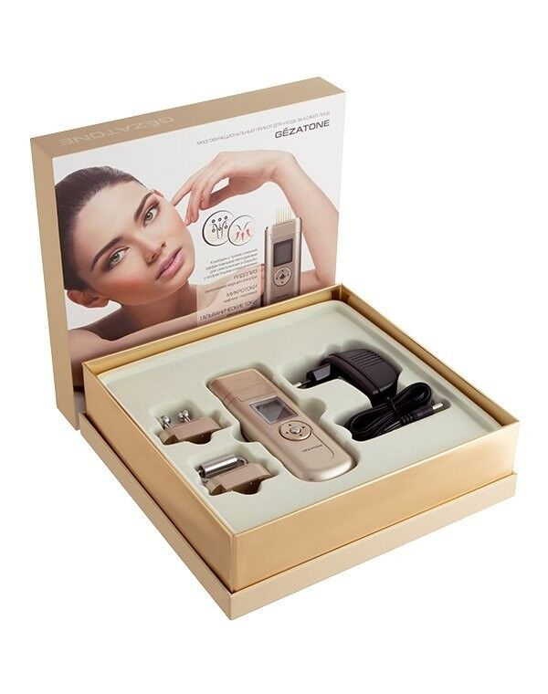 GEZAtone Массажер для лица «Омоложение кожи» 3-в-1 Beauty Iris m708 - фото 3
