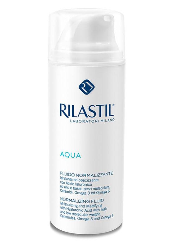Rilastil Флюид нормализирующий с увлажняющим и матирующий действием AQUA, 50 мл - фото 1