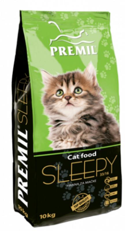 Premil Корм для кошек Sleepy Kitten SuperPremium 400 г - фото 1