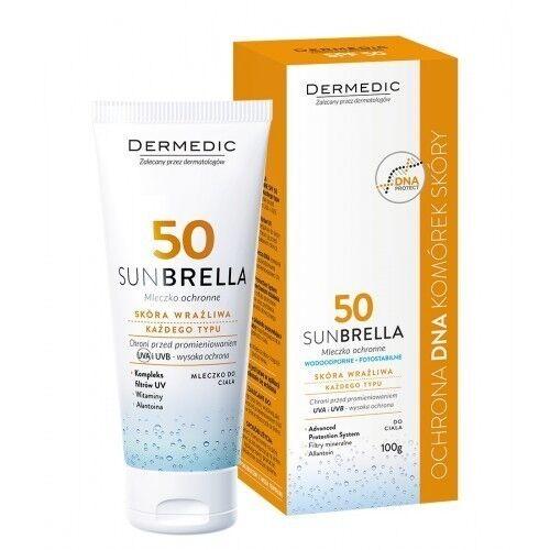 Dermedic SUNBRELLA Солнцезащитное молочко SPF 50 100г - фото 1