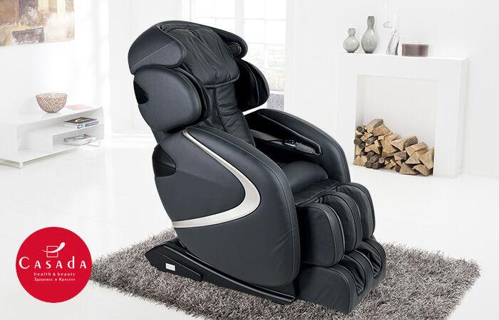 Массажер Casada Массажное кресло с большим набором функций Hilton 2 (Хилтон 2) - фото 1