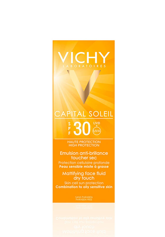 Vichy Эмульсия для лица CAPITAL IDEAL SOLEIL матирующая SPF30 50 мл - фото 1