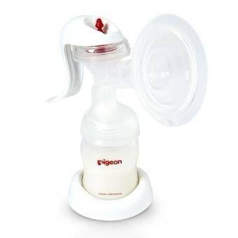 Молокоотсос Pigeon Молокоотсос ручной с двухфазной системой сцеживания breast pump manual - фото 1