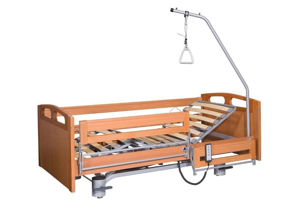 ELBUR Кровать функциональная 4-х секционная с электроприводом PB 536 - фото 1