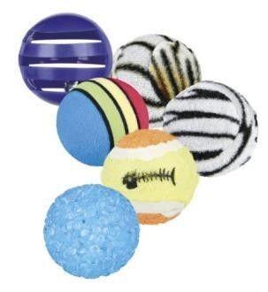 Trixie Игрушка «Набор из 6 мячиков» - фото 1