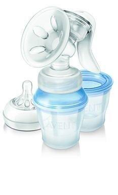 Молокоотсос Philips Молокоотсос ручной с системой хранения молока VIA AVENT SCF330/12 Natural - фото 2