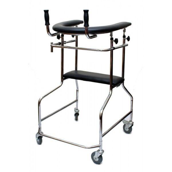 Прокат медицинских товаров Мега-Оптим Ходунки-опоры ортопедические на 4-х колесах LK3003W - фото 1