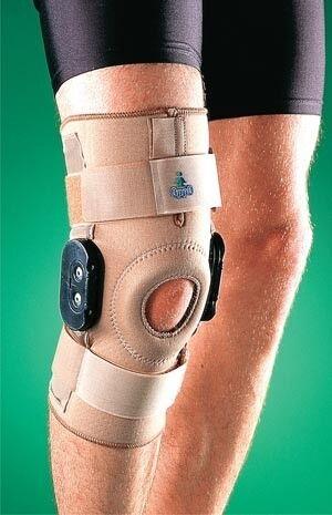 OPPO Ортопедический коленный ортез с боковыми шарнирами 1036 - фото 1